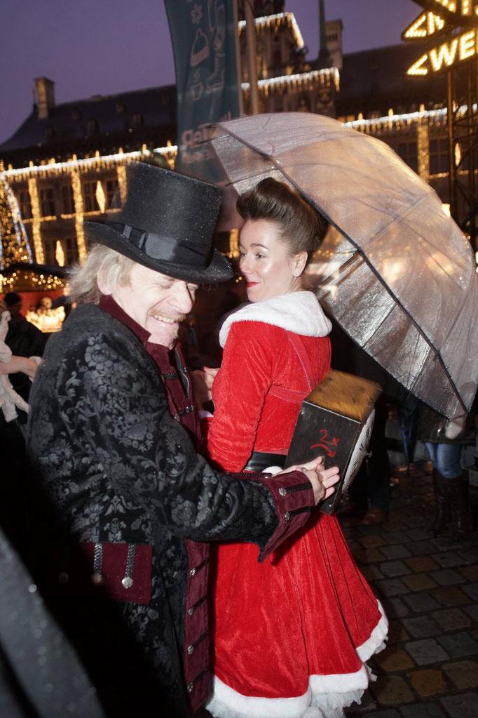 straattheater kerstmarkt