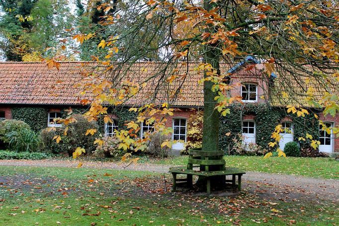 Das Rondell im Hof Achtern Hagen