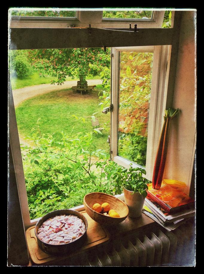 Kaffee-und-Kuchen-Stimmung im Hof Achtern Hagen