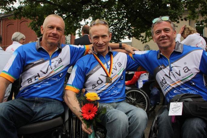 Unser adViva Trio bei der Deutschen Meisterschaft