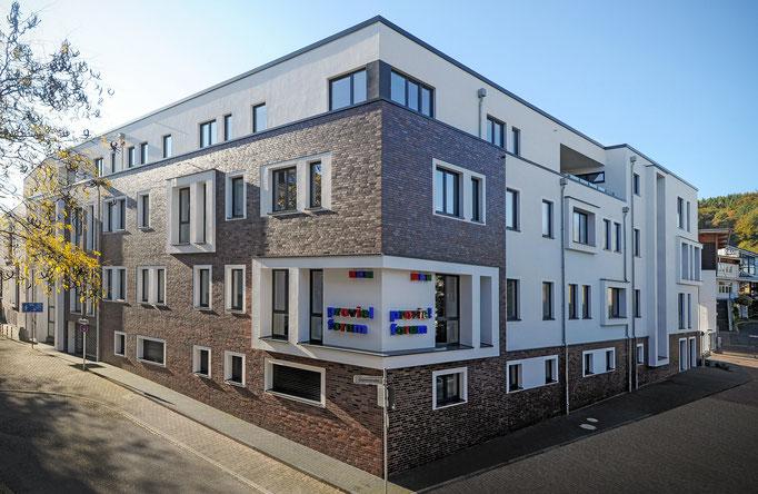 Neubau eines Verwaltungs- und Werkstattgebäudes (im Rahmen der Tätigkeit für Harald Gerlich)