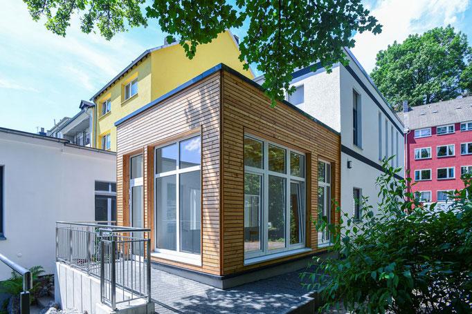 Aufstockung und Umbau eines Bürogebäudes