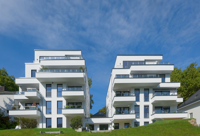 Neubau von zwei Mehrfamilienhäusern  (im Rahmen der Tätigkeit für Harald Gerlich)