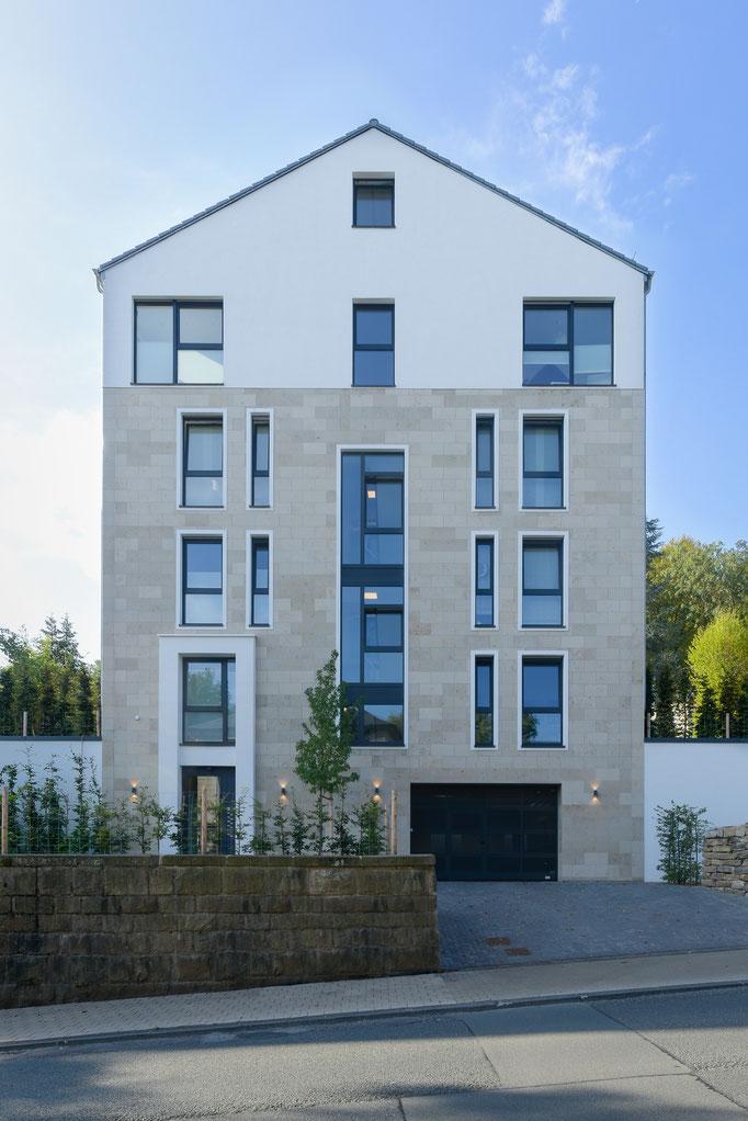 Neubau eines Mehrfamilienhaus (im Rahmen der Tätigkeit für Harald Gerlich)