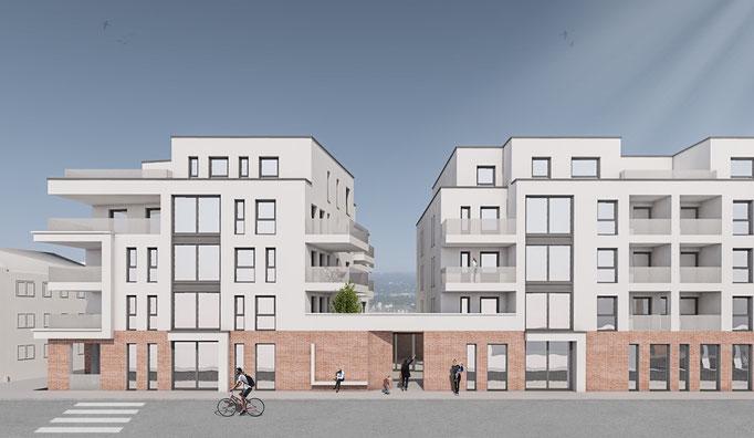 Planung einer Kindertagesstätte mit 30 Wohneinheiten