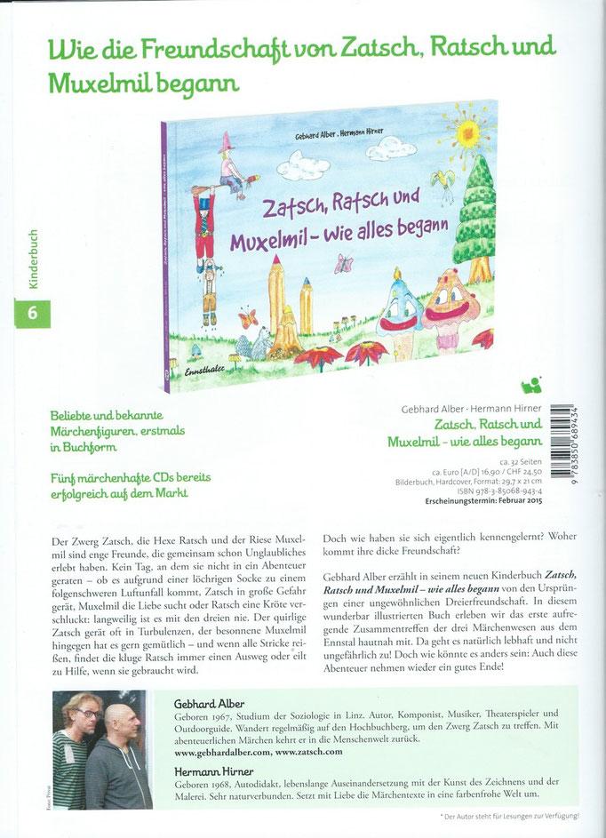 aus dem Frühjahrsprogramm des Ennsthaler Verlags, 2015