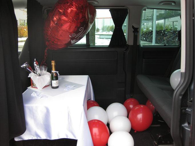 Limousinenservice für Hochzeiten, Geburtstage oder sonstige Anlässe