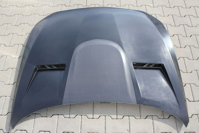 Bonnet with M4 Powerdome DTM-Style