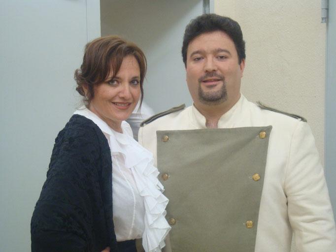 """""""Luisa Fernanda"""" con mi amigo Jesús Quílez Enero 2012"""