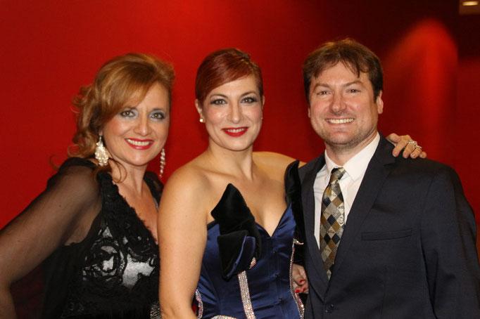 Con Pilar Jurado, Duncan Gifford