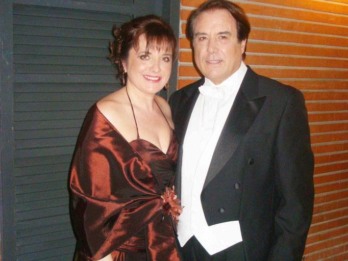 con mi querido  amigo Luis Romero