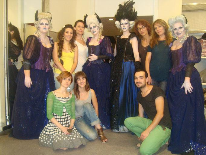 La Flauta Mágica 2011 maquilladores y vestuario