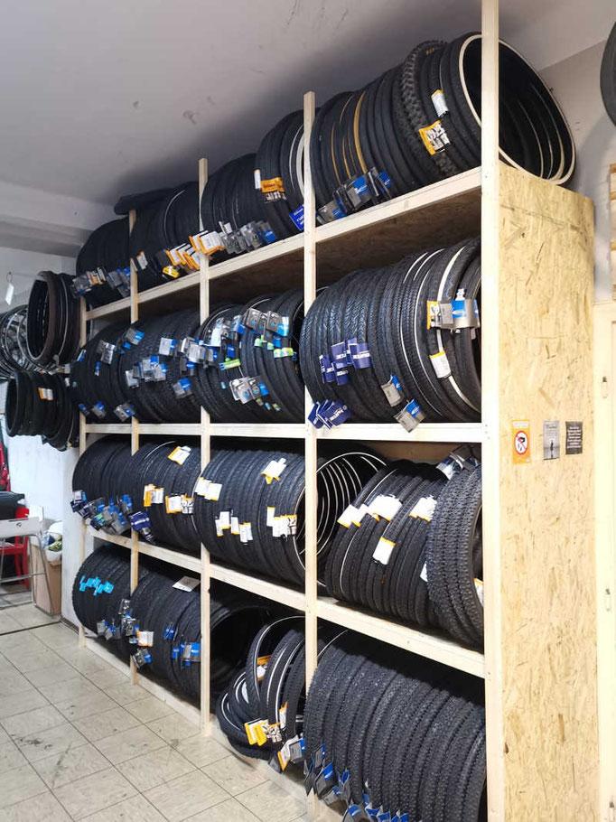 Lagernde Reifen