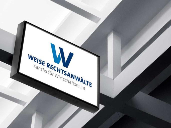 Logo für die Rechtsanwaltskanzlei Weise