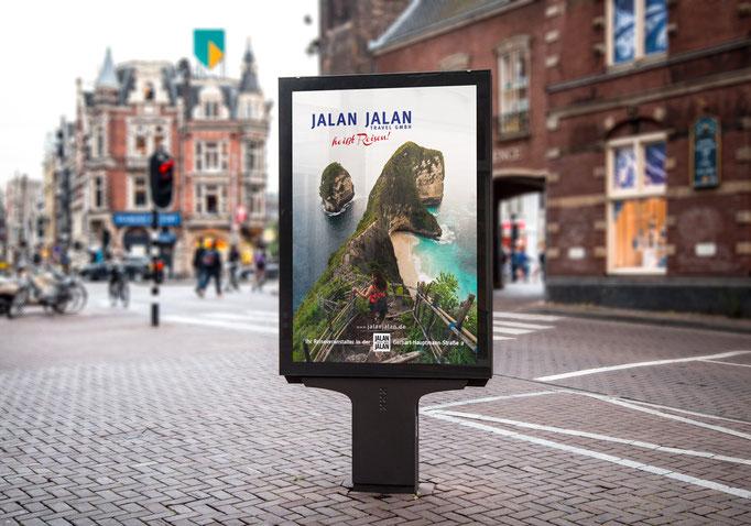 City Light Poster für Jalan Jalan Travel