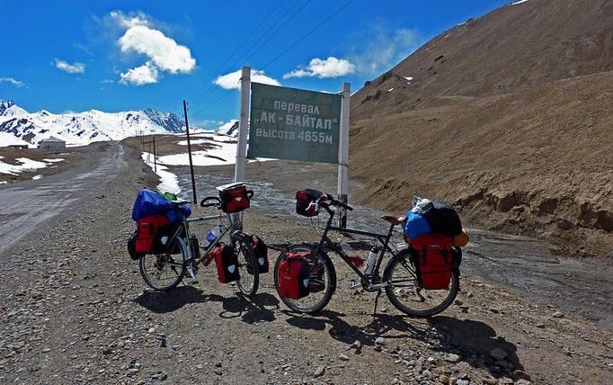 Ak-Baital Pass, 4655m