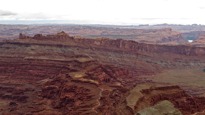 Aussicht vom Anticline Overlook