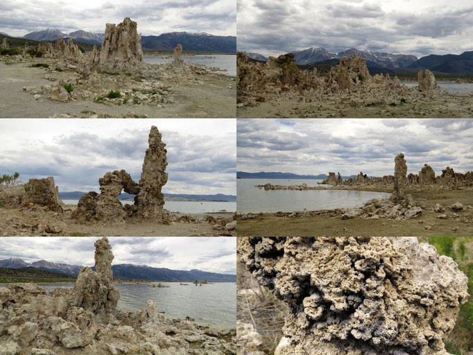 Tufas am Mono Lake