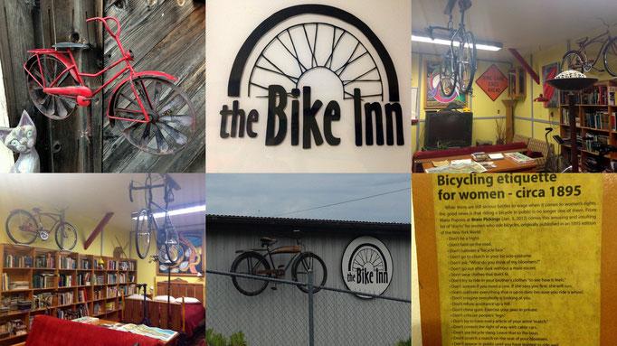eine Unterkunft nur für Radfahrer