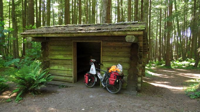 Hiker-Unterkunft im Ecola State Park