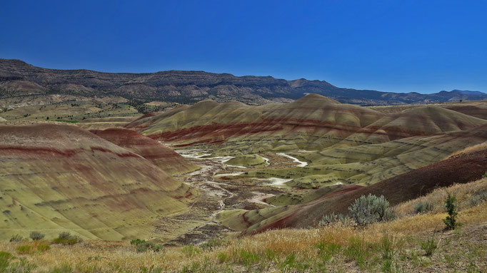 John Day Fossil Beds - Painted Hills Unit