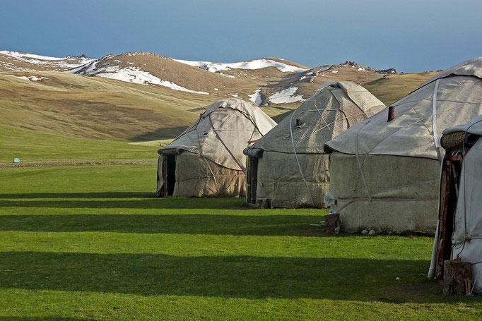 Jurten-Camp