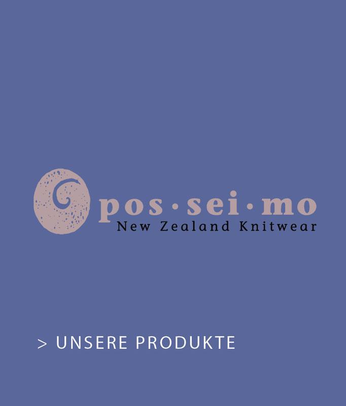 posseimo New Zealand Knitwear Merinowolle