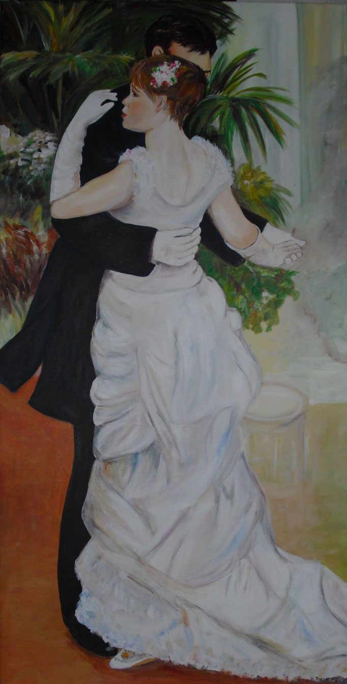 Renoir: Tanz in der Stadt (120x60 cm)