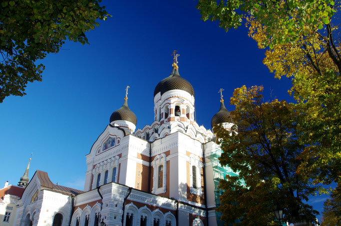 Aleksander-Nevskij-Kathedrale, Tallinn, Estland