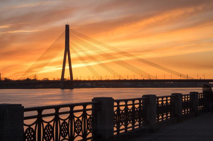 Daugava (Düna), Riga, Lettland