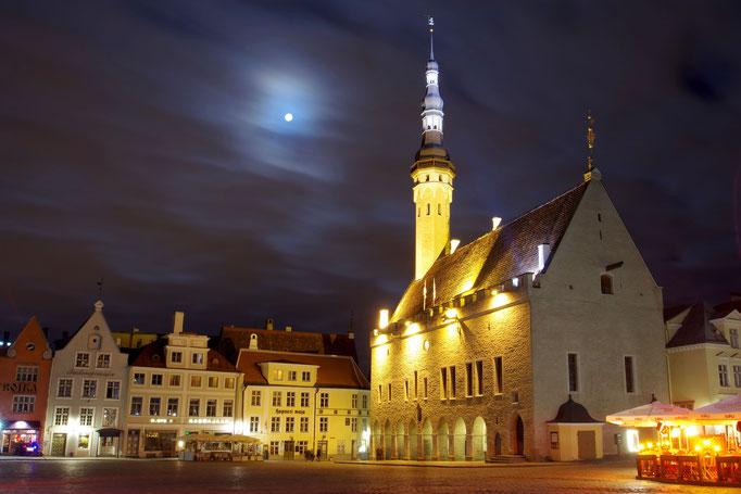 Das Rathaus von Tallinn, Estland