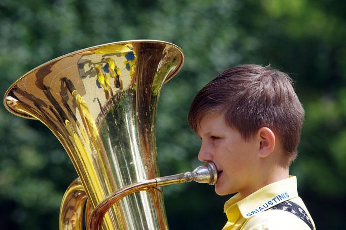 Musiker, Vilnius, Litauen