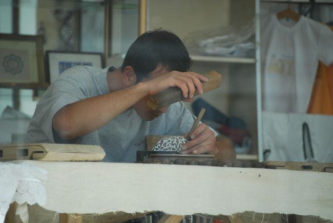 Habile artisan de Boukhara