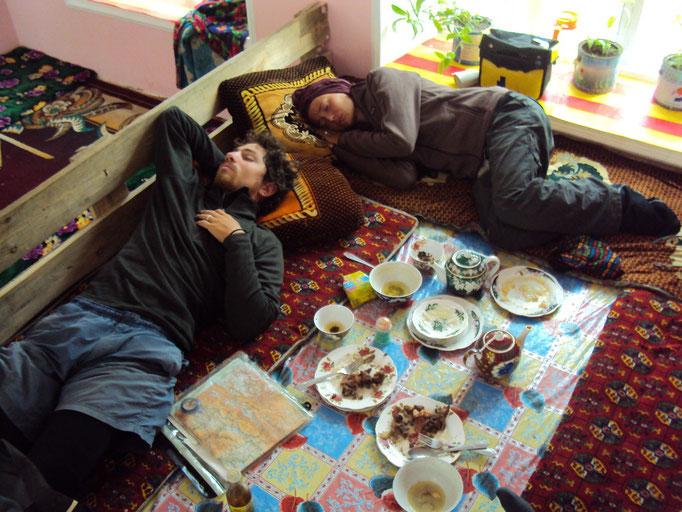 Sieste dans une Chaïkhana