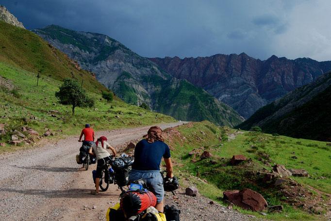 Route vers Khorog
