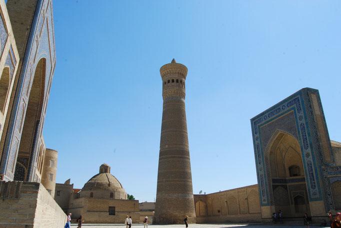 L'imposant minaret Kalon, Boukhara