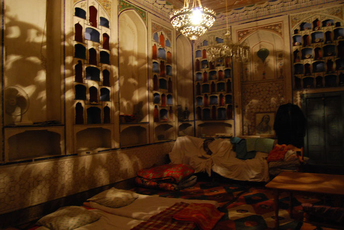 Notre chambre chez Mubijon, Boukhara
