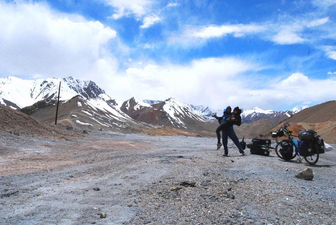 Col de Ak-Baital, 4655 m