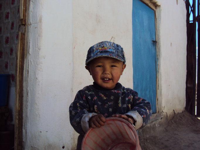 Enfant kirghiz