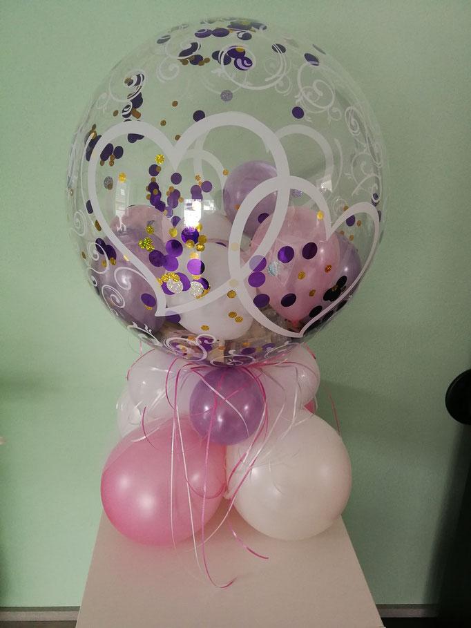luftgefüllter Bubble