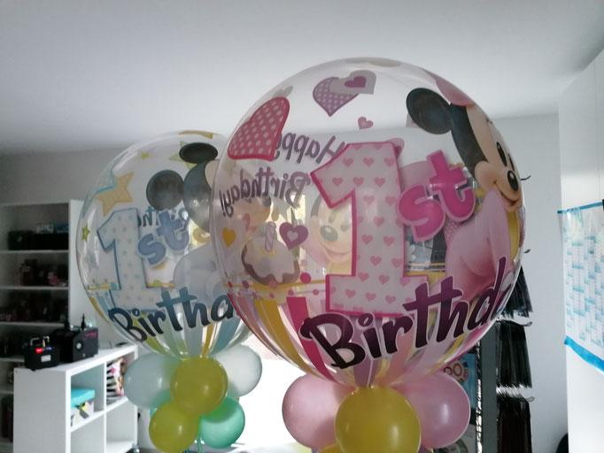Bubble zum 1. Geburtstag
