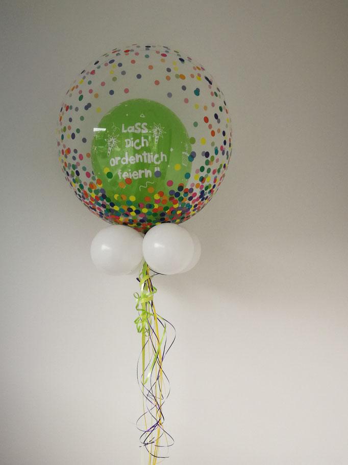 Bubble zum Geburtstag