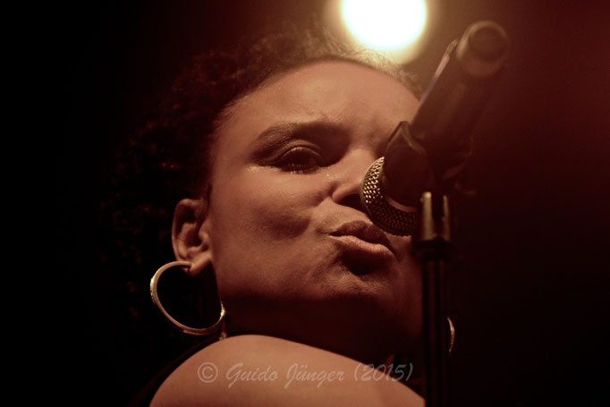 Kim Sanders; 25. Dürener Jazztage 2015