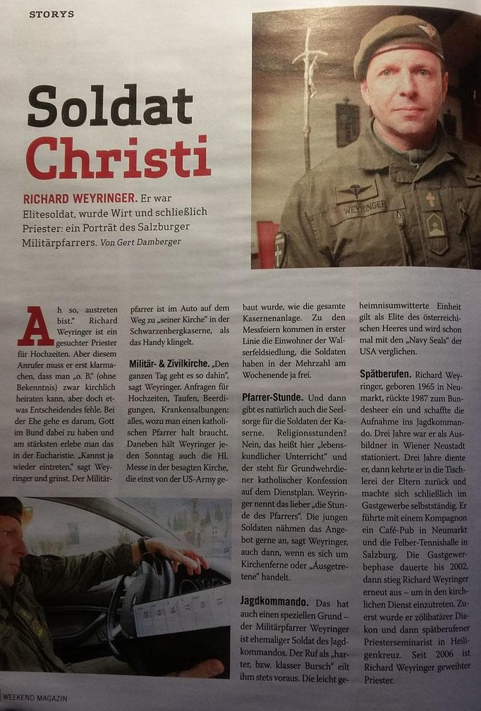 Seite 20 ((Weekend-Magazin vom 23./24. März 2018 (NR. 5, Autor Gert Damberger))