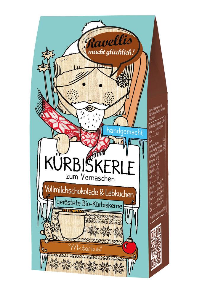 Kürbiskerne Vollmilchschokolade & Lebkuchen