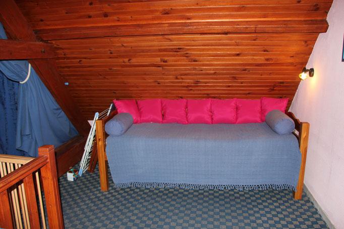 La chambre lit une place