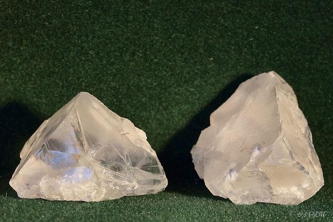 Fluorit, Kristallbruchstücke