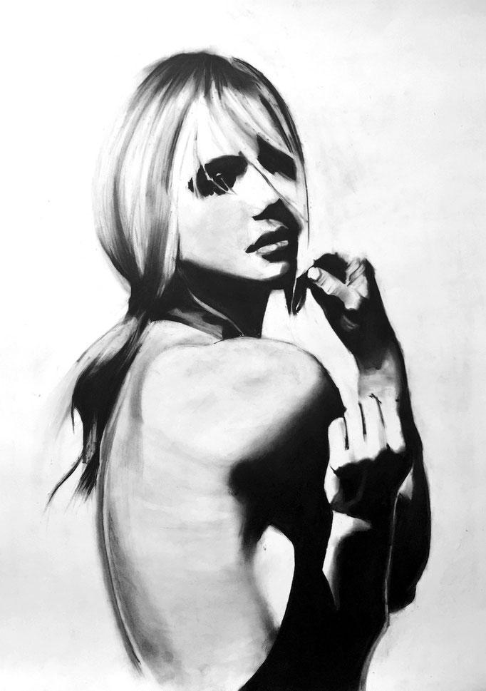 Little black dress | 59 x 42 cm | Eur 300