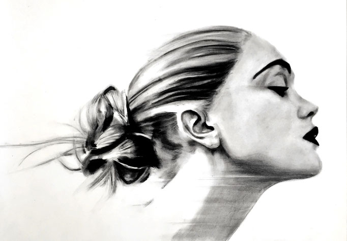 In the wind |  59 x 42 cm | Eur 300