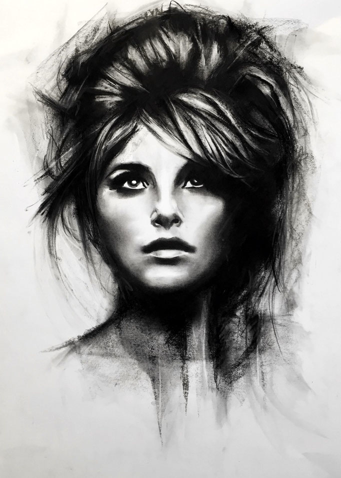 Just a girl | 42 x 59 cm | Eur 200
